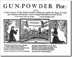 Guy Fawkes Gun-powder Plot. A late 17th or early 18th century report of the plot.