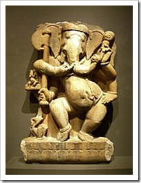Philadelphia Museum of Art - Ganesha, Madhya Pradesh, c. 750, India