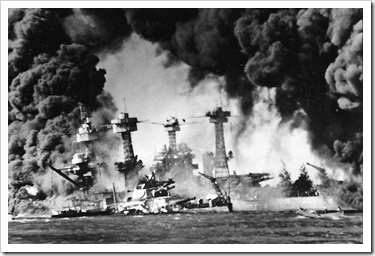 Attack on Pearl Harbour 7 December 1941