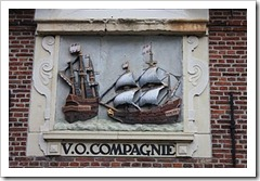 17th century plaque to Dutch East India Company (VOC), Hoorn