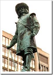 Jan Van Riebeeck Statue Cape Town