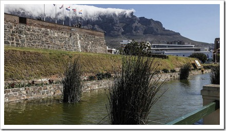 The battlements of Cape Town's Castle of Good Hope - Mike Hutchings/Reuters