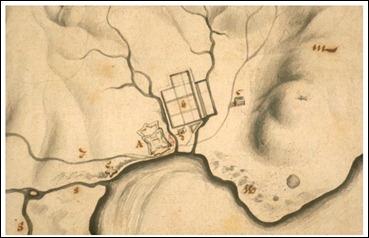 Van Oers fig 1 Map of Fort of Good Hope