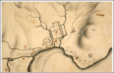 Van Oers fig 1 Map of Fort of Good Hope