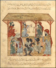 13th century slave market in the Yemen [Photo: WikiIslam]