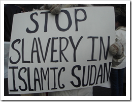Unlike the West, slavery is still alive and thriving in the Islamic East.