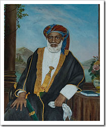 Zanzibari slave trader Tippu Tip owned 10,000 slaves [Photo: Wikipedia]